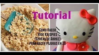 getlinkyoutube.com-Cómo hacer Rice Krispies/Cereal de Arroz para fijuras en 3D - Madelin's Cakes