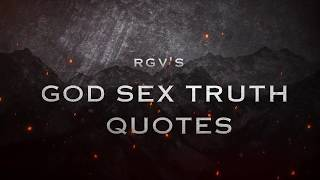 God Sex Truth Quotes| RGV's GST | God Sex Truth Watch Online|Mia Malkova,GST,RGV|