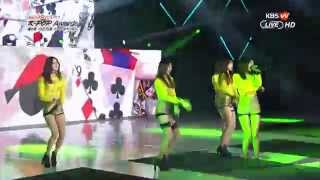 getlinkyoutube.com-150128 EXID - 위아래 Up & Down (4th Gaon Chart KPOP AWARDS)