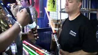 getlinkyoutube.com-Comic-Con - Parks Sabers -  Interview