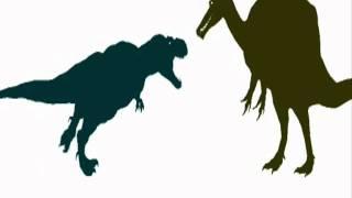 getlinkyoutube.com-Fight Arena- Tyrannosaurus vs Spinosaurus