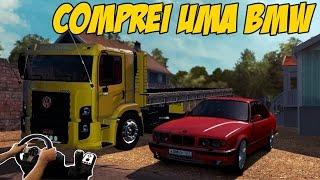 getlinkyoutube.com-COMPREI UMA BMW - EURO TRUCK SIMULATOR 2 -  VOLANTE G27-  MAPA RBR