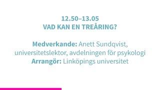 Forskartorget 2015 -  VAD KAN EN TREÅRING?
