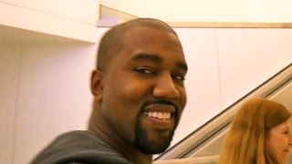 Kanye West Can't Stop Smiling About First Anniversary With Kim Kardashian