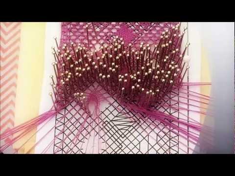 Arañas de encaje de bolillos