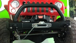 "getlinkyoutube.com-RC4WD 1/10 Warn 9.5cti Winch - Axial Racing SCX10 G6 ""Red Devil Recon"" Upgrade!"