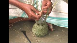 getlinkyoutube.com-Bamboo Crafts of Assam - Khaloi