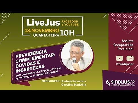 LiveJus: Previdência Complementar - Dúvidas e Incertezas