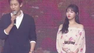 getlinkyoutube.com-160624 Chanyeol and Nayeon Music Bank Special Stage Dream