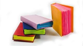 getlinkyoutube.com-How to make a mini modular origami book - - DIY Paper Book