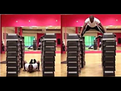 Flying Push Up NEW Records! 1.25Meter & 1.36Meter Iron Monkey! Full length video