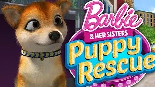 getlinkyoutube.com-CUTEST GAME EVER !!! - RESCUING ALL THE PUPPIES!!! (Barbie and Her Sisters Puppy Rescue)