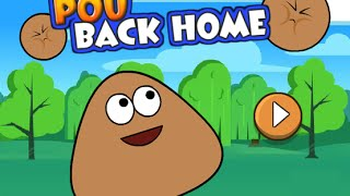 getlinkyoutube.com-Pou Back Home Full Gameplay Walkthrough All Levels