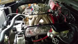70 Olds 455 race engine