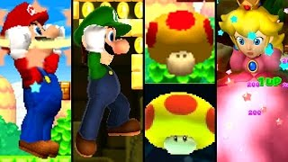 getlinkyoutube.com-Super Mario ALL MEGA MUSHROOMS 2004-2015 (Wii U, 3DS, DS)