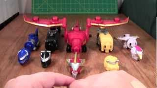 getlinkyoutube.com-Power Rangers Gosei Great Megazord Review (Megaforce  Deluxe Bandai Toy)