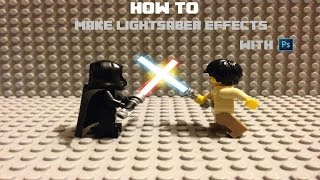 getlinkyoutube.com-How To Make Lightsaber Effects With PhotoShop 2015
