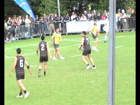 Touch Rugby World Cup 2011 Final: Aus v NZ (highlights)
