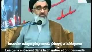 İran dini lideri Hamaney'in doğumunu anlatırken şirke giren Şiiler..