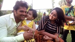 getlinkyoutube.com-भोजपुरी स्टार खेसारी लाल  मानते हैं अपने  बेटी को सफलता की वजह  | Khesari Success Mystery Revealed