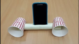 getlinkyoutube.com-How to Make a Cool Smartphone Amplifier/Speaker
