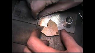 Hand Engraving What a graver should look like,and how to sharpen it.