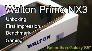 Walton Primo NX3 : Unboxing, First Impression, Gaming and Benchmark | 4K!