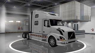 getlinkyoutube.com-Euro Truck Simulator 2 ( Volvo VNL 780 v 1.2 )
