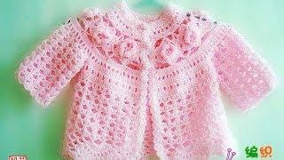 getlinkyoutube.com-Crochet Baby Frock