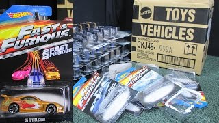 2015 Fast & Furious Factory Sealed Case Unboxing