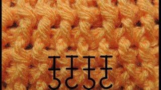 getlinkyoutube.com-Curso Basico de Crochet : Punto Elastico
