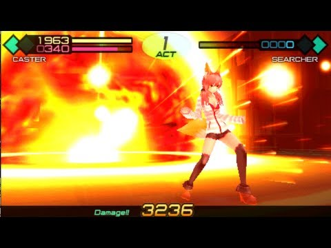 Fate/Extra CCC Caster Polygamist Castration Fist
