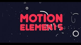 getlinkyoutube.com-Motion Elements | After Effects template