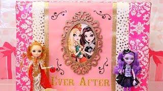 getlinkyoutube.com-EAH Caja gigante sorpresa con muñecas de Ever After High
