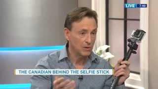 Meet Wayne Fromm Canadian Inventor of the selfie stick CTV News