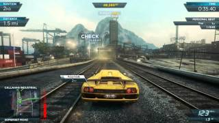 getlinkyoutube.com-Need For Speed Most Wanted 2012: All Heroes DLC Pack Cars (Stock) vs. Most Wanted BMW M3 GTR