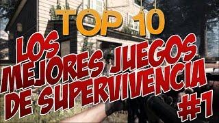 getlinkyoutube.com-TOP 10 #1 | Los Mejores Juegos De SUPERVIVENCIA Para PC + Links De Descarga | 2017