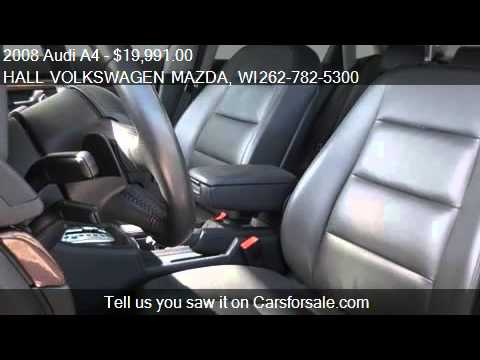 2008 Audi A4 2.O Quattro Sedan - for sale in Brooksfield, WI