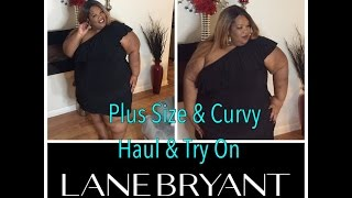 getlinkyoutube.com-Lane Bryant Haul & Try On ~ Plus Size & Curvy Fashion ~ Deidra Dazzling