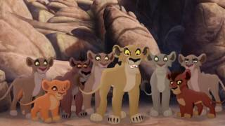 getlinkyoutube.com-Lion Guard: Lions of the Outlands Ending - Kion VS Zira & the Outsiders! HD Clip