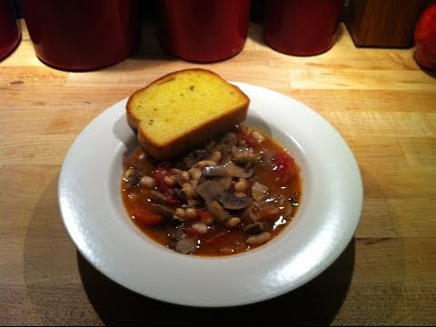 Mushroom and White Bean Stew