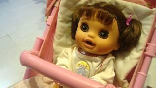 getlinkyoutube.com-Cuidando da minha Baby Alive Comer e Brincar Bia - Rafaella Camargo