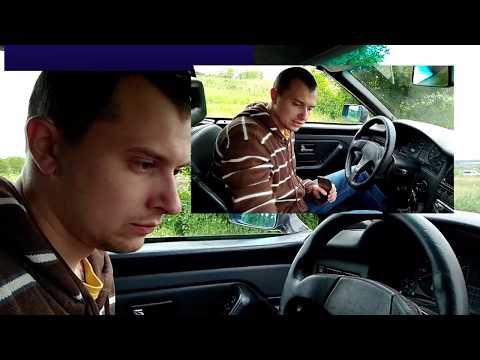 Audi 80 Cabriolet - Салон Кабриолета Audi. Часть 1.