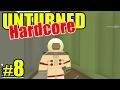 Unturned HARD Mode - E08 Lost Alien at Safezone!! Overgrown 3+ Map