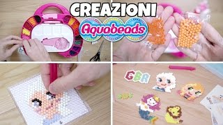 getlinkyoutube.com-CREAZIONI con le AQUABEADS: le PERLINE acqua attacca