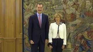 Audiencia a Dª María Teresa Fernández de la Vega, Presidenta del Consejo de Estado