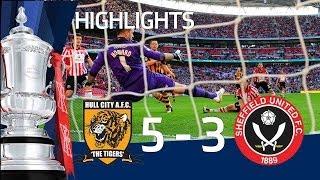 getlinkyoutube.com-HULL CITY VS SHEFFIELD UNITED 5-3: Goals and highlights FA Cup Semi Final HD