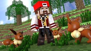 getlinkyoutube.com-Minecraft: LIGA 8 #8 - O ATAQUE DOS EEVEEs! LAMPENT!! :O - Pixelmon