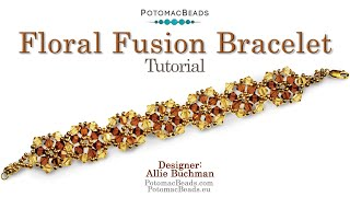 getlinkyoutube.com-Beadweaving 'Floral Fusion' Instructions
