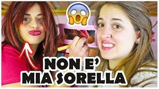 getlinkyoutube.com-MIA SORELLA (NON) MI TRUCCA - Trucco Natalizio Bellissimo